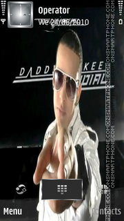 Daddy Yankee Mundial theme screenshot