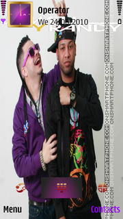 Jowell & Randy theme screenshot
