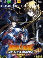 Saint Seiya Lost Canvas1 theme screenshot