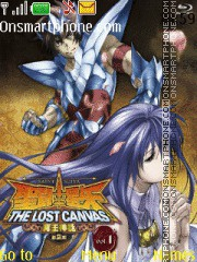 Saint Seiya Lost Canvas2 theme screenshot