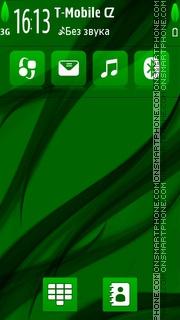 Green Agae tema screenshot