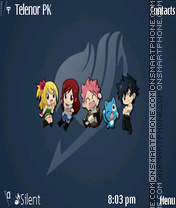 Fairy tail (E) theme screenshot