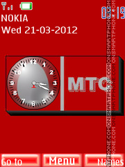 MTS theme screenshot