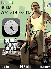 Gta San Andreas 13 theme screenshot