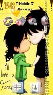 Love U Forever tema screenshot