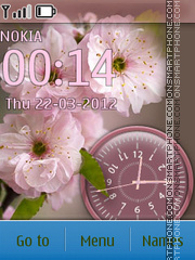 Sakura theme screenshot