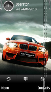 Bmw hd theme screenshot