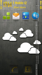Minimal Cloud tema screenshot