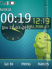 Nokia Asha Android theme screenshot