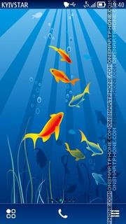 Underwater es el tema de pantalla