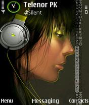 Music Girl es el tema de pantalla
