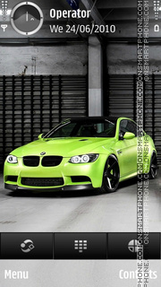 BMW Elgreen theme screenshot