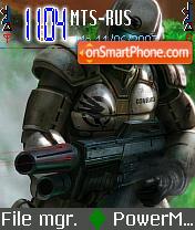 Command es el tema de pantalla