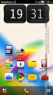 Colours 06 theme screenshot
