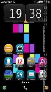 Скриншот темы Lumia theme 01