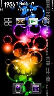 Color Bubble 01 theme screenshot