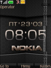 Nokia Digital theme screenshot