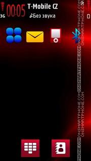 Red Light theme screenshot