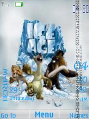 Скриншот темы Ice Age