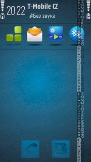 Dark blue tema screenshot