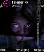 Eyes theme screenshot