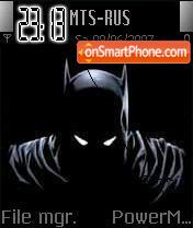 The Batman theme screenshot