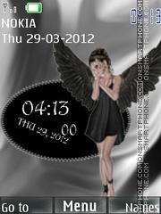 Скриншот темы Dark angel