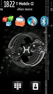 Pisces Black es el tema de pantalla