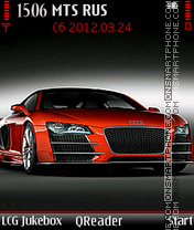 Audi-R8 theme screenshot