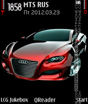 Audi-red Theme-Screenshot