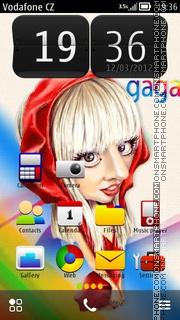 Скриншот темы Ladygaga