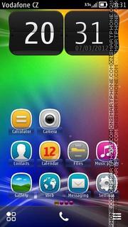 Colour es el tema de pantalla