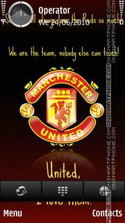 Love United tema screenshot