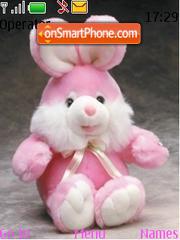 Bunny For Girls es el tema de pantalla