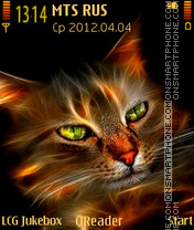 Orange Cat theme screenshot