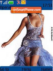 Beyonce Knowles 01 es el tema de pantalla