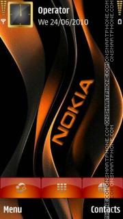 Nokia Orange es el tema de pantalla