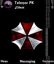 Umbrella Corporation theme screenshot