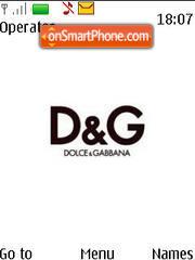 Скриншот темы Dolce Gabbana 01