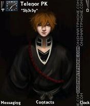 Bleach X theme screenshot