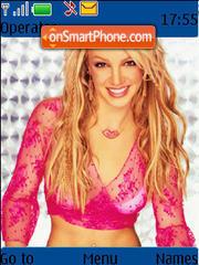 Britney 03 theme screenshot