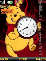 Pooh Catch CLK tema screenshot