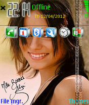 Alizee 03 theme screenshot