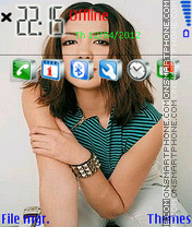 Michelle Branch 02 theme screenshot