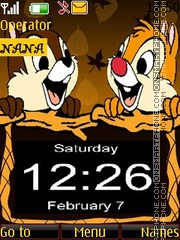 Chip N Dale CLK theme screenshot