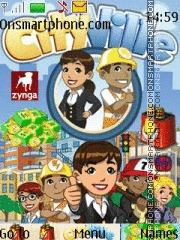 City Ville es el tema de pantalla