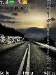 Road 67 theme screenshot
