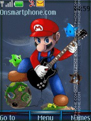 Super Mario 12 es el tema de pantalla