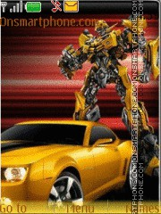 Bumblebee Transformers theme screenshot