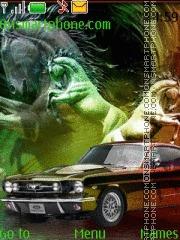 Capture d'écran Ford Shelby 03 thème